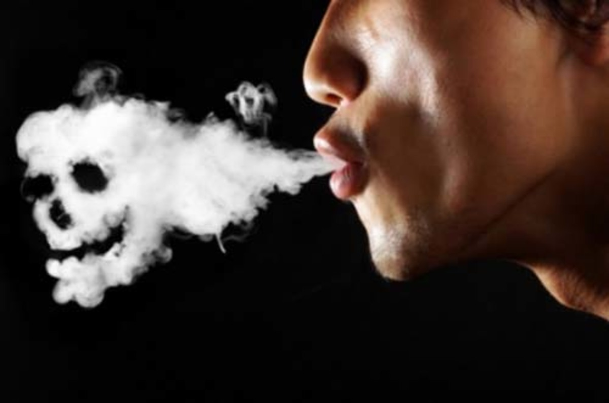 Renuntarea la fumat cu laser