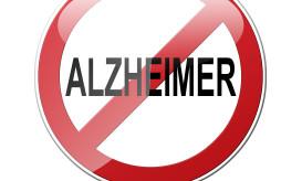 Señal trafico prohibido ALZHEIMER