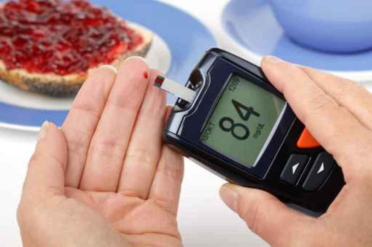 Blutzuckermessung vor dem Frühstück