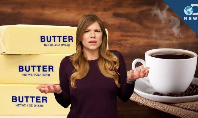Απίστευτο: Γιατί το νέο hot-trend στην υγεία είναι ο καφές με βούτυρο (ΒΙΝΤΕΟ)