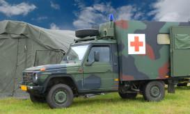 military ambulance