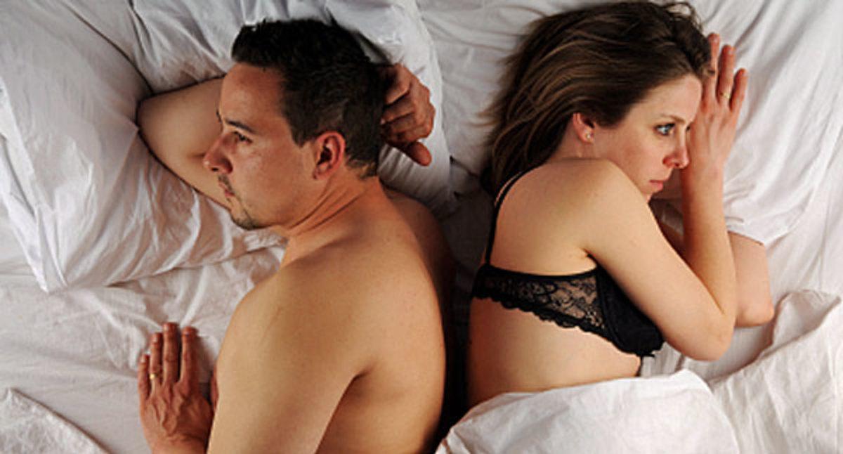 απουσία σεξ από το γάμο