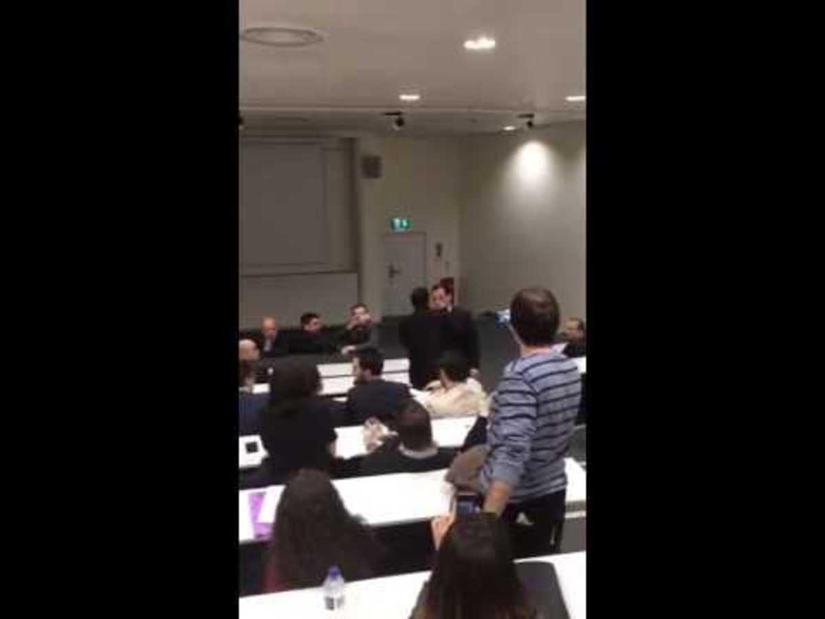 Φοιτητές κατά Άδωνι στο Λονδίνο! Επεισοδιακή ομιλία στο Imperial (ΦΩΤΟ & ΒΙΝΤΕΟ)