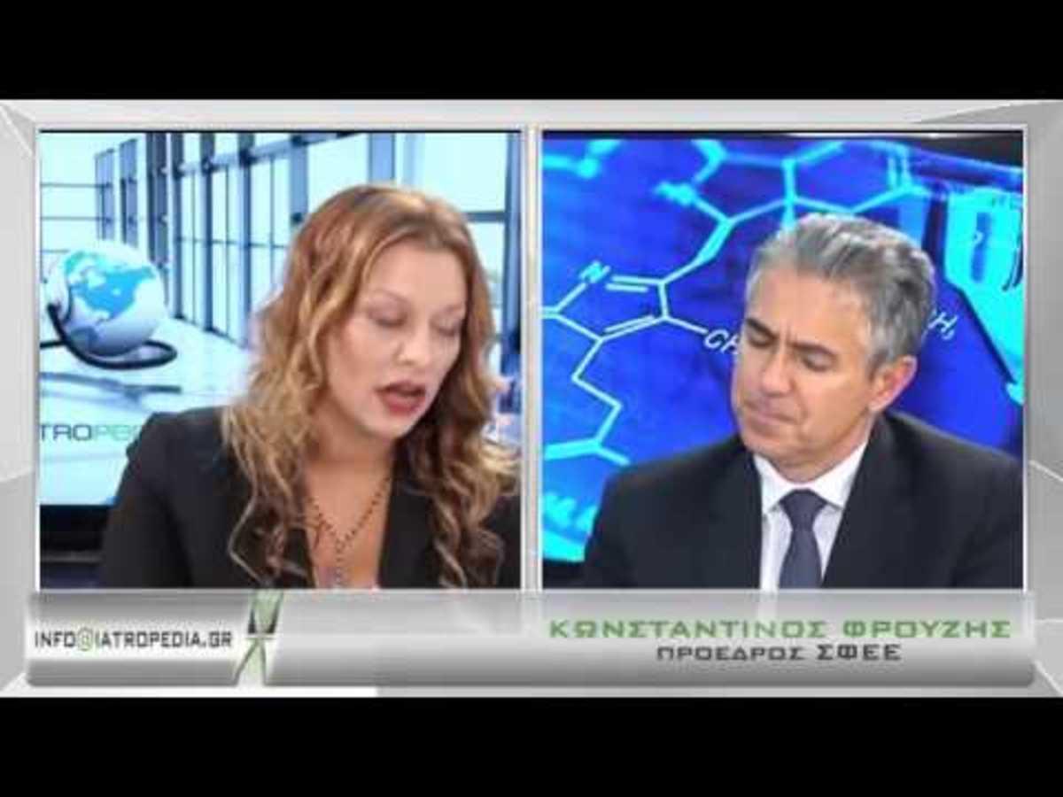 """Ο πρόεδρος του ΣΦΕΕ Κ.Φρουζής στο iatropedia.gr:""""Στη φόρα όλες οι συναλλαγές των γιατρών με τις φαρμακευτικές"""""""