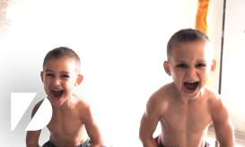 Τα δυνατότερα 6χρονα του κόσμου με μύες σαν του Σβαρτζενέγκερ-ΒΙΝΤΕΟ