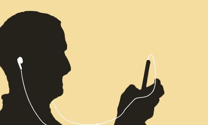 μουσική με ακουστικά