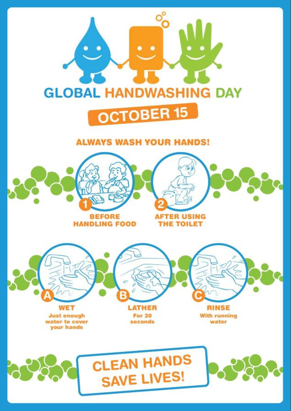 Παγκόσμια Ημέρα Πλυσίματος Χεριών