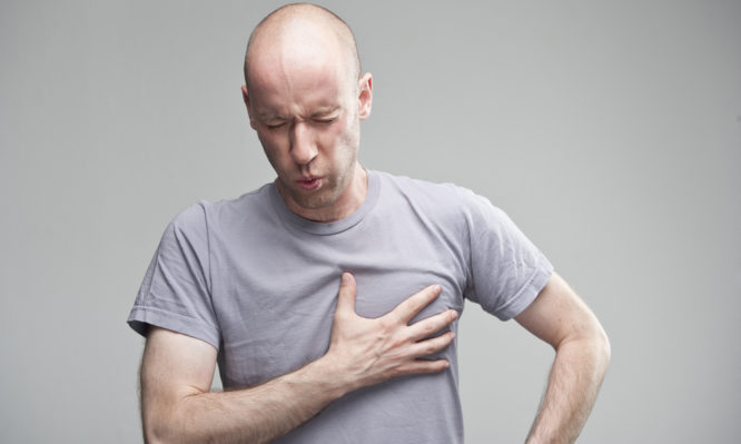 πόνος στο στήθος
