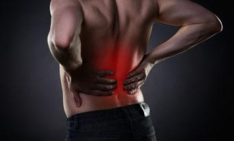 πόνος χαμηλά στην πλάτη