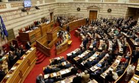 Ο πρωθυπουργός Αλέξης Τσίπρας μιλά στην ολομέλεια της Βουλής, Κυριακή 22  Μαΐου 2016. Διεξάγεται για δεύτερη ημέρα στην ολομέλεια Βουλής η συζήτηση και στην συνέχεια η ψήφιση του σχεδίου νόμου του Υπουργείου Οικονομικών «Επείγουσες διατάξεις για την εφαρμογή της Συμφωνίας δημοσιονομικών στόχων και Διαρθρωτικών Μεταρρυθμίσεων και άλλες διατάξεις. ΑΠΕ-ΜΠΕ/ΑΠΕ-ΜΠΕ/Παντελής Σαίτας