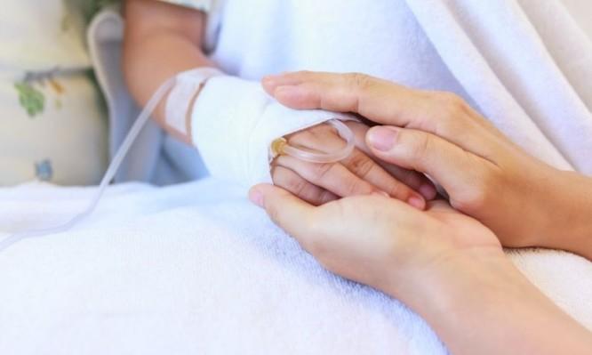 Child cancer hand