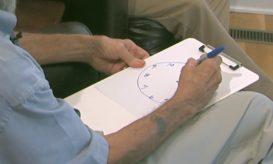 τεστ με το ζωγραφισμένο ρολόι