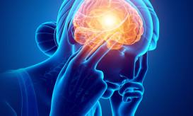 3d Illustration of Women Feeling Headache