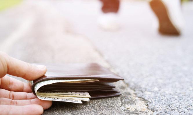 εντιμότητα πορτοφόλια