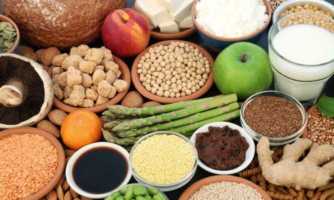 τροφές φυτικής προέλευσης