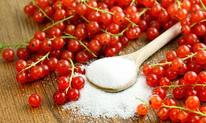 φρούτα με λιγότερη ζάχαρη