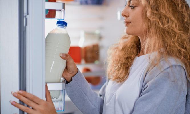 νωπό γάλα
