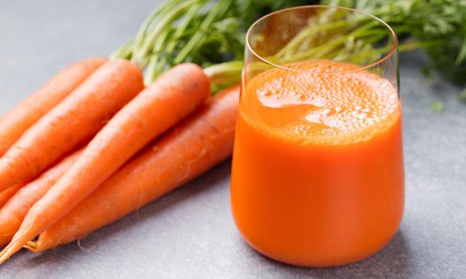 χυμός καρότου