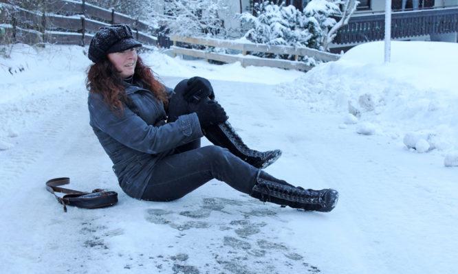 πτώσεις στον πάγο